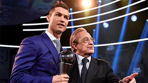 Perez: 'Ronaldo sẽ không quay lại Real'