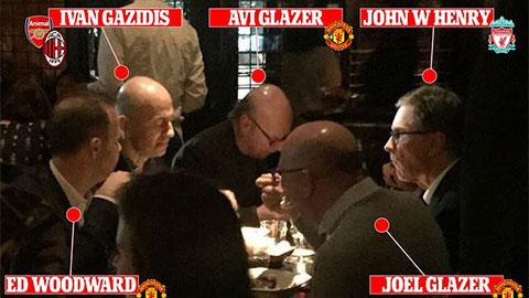 Bữa tối định mệnh của các 'ông trùm' khai sinh ra Super League?