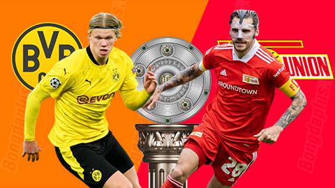 Nhận định bóng đá Dortmund vs Union Berlin, 01h30 ngày 22/4