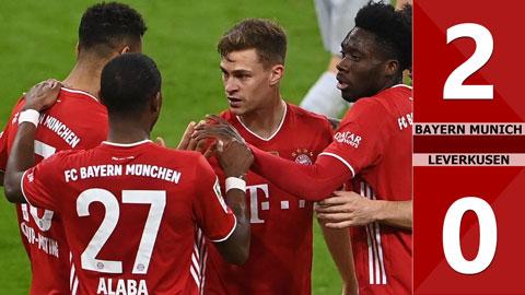Bayern Munich vs Leverkusen: 2-0 (Vòng 30 Bundeliga 2020/21)