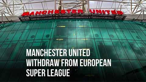 MU tuyên bố sẽ không tham gia Super League