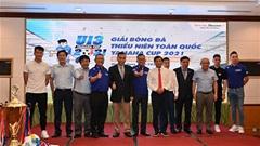 40 đội bóng tham dự giải thiếu niên toàn quốc Yamaha Cup 2021