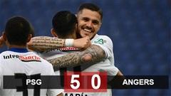 Kết quả PSG 5-0 Angers: Show diễn của Icardi