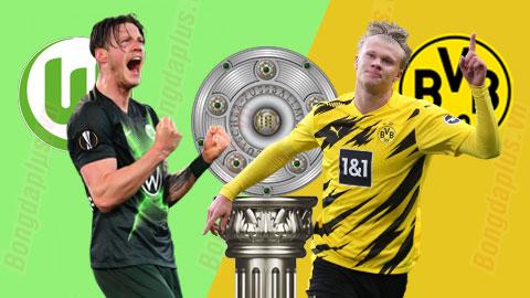 Nhận định bóng đá Wolfsburg vs Dortmund, 20h30 ngày 24/4