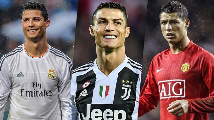 Ronaldo thành công ở những nơi anh xuất hiện