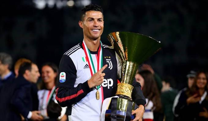 Ronaldo đang có thành công với Juventus ở đấu trường quốc nội