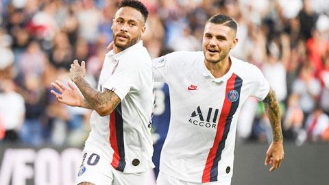 Neymar và Mauro Icardi : Thương binh phục hận