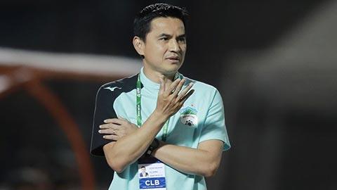 HLV Kiatisak lý giải về trận thắng may mắn của HAGL trước An Giang