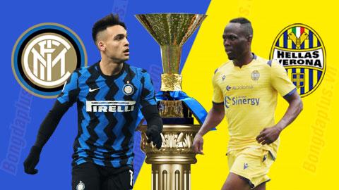 Nhận định bóng đá Inter Milan vs Verona, 20h00 ngày 25/4