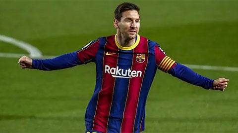 Danh hiệu Pichichi lần thứ 5 liên tiếp khó thoát khỏi tay Messi