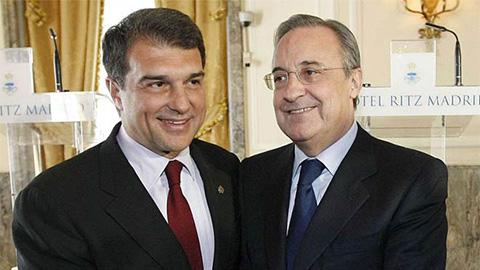 Barca bênh Real, tiếp tục ủng hộ Super League