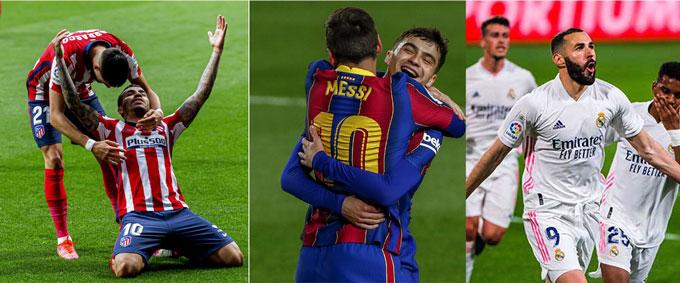 Cả 3 đội đầu bảng đều có những chiến thắng cách biệt để đua tranh ngôi vô địch
