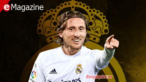 Luka Modric vẫn là vua ở Real Madrid ở tuổi 35