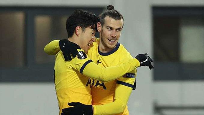 Bale và Son rất tốc độ và giỏi khai thác khoảng trống