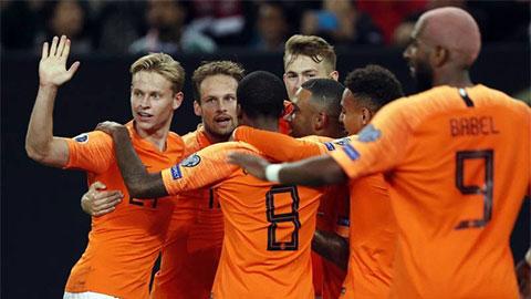 ĐT Hà Lan ở EURO 2020: Lốc da cam sẽ nổi?