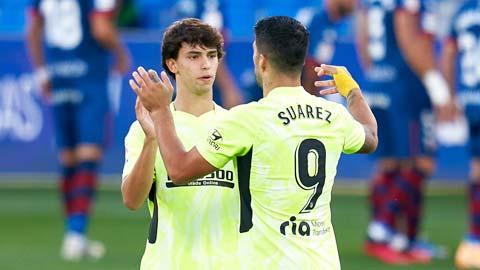 ''Song sát'' Suarez & Joao Felix của Atletico sắp tái xuất