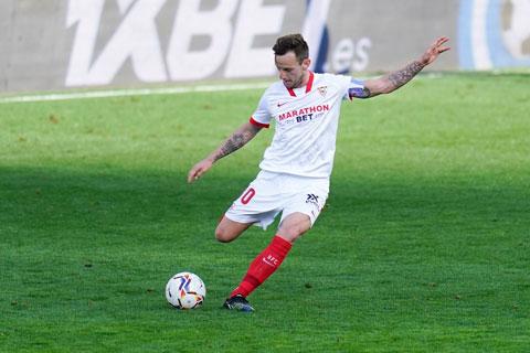 Ivan Rakitic trong màu áo Sevilla