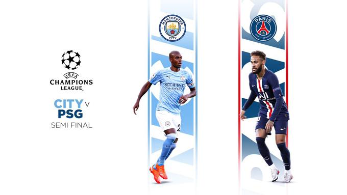 Nếu vượt qua PSG ở bán kết, Man City sẽ lần đầu vào chung kết Champions League