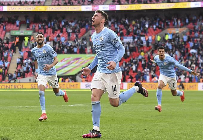 Man City đã đánh bại Tottenham ở chung kết cúp Liên đoàn