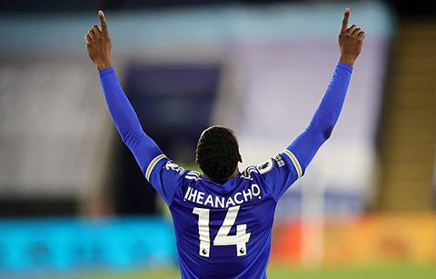 Iheanacho đang thi đấu xuất sắc ở Leicester