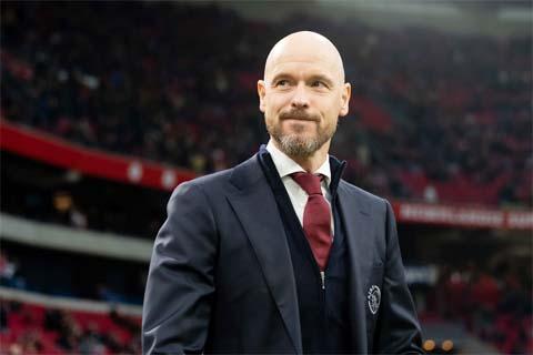 Nếu nhận lời về Tottenham, HLV Erik ten Hag sẽ hưởng mức lương lên đến 5 triệu euro/mùa