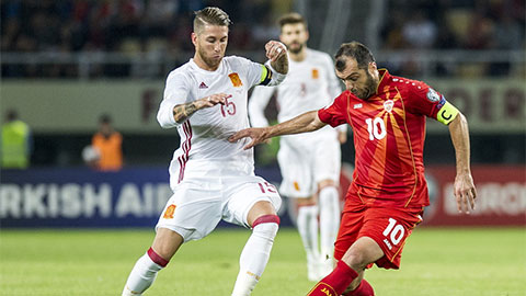 ĐT Bắc Macedonia tại EURO 2020: 'Ngân hàng điểm'
