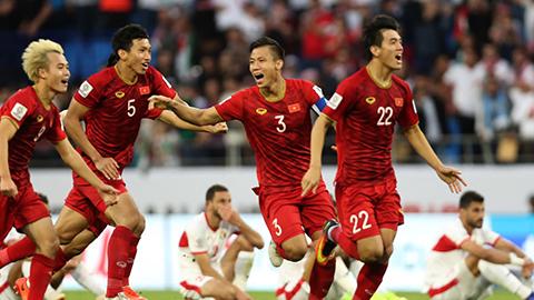 Đội tuyển Việt Nam từng thắng Jordan trên sân Al Marktoum