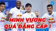 Top 5 bàn thắng đẹp nhất vòng 11 V.League 2021: Ngỡ ngàng siêu phẩm của Minh Vương
