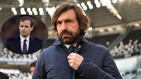 Juventus muốn sa thải Pirlo để tái bổ nhiệm Allegri