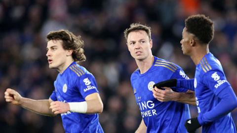 Leicester & mũi  đinh ba ở... hàng thủ