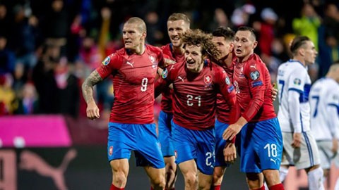 ĐT Czech ở EURO 2020: Khó lòng đi sâu
