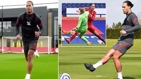 Van Dijk khiến NHM Liverpool và ĐT Hà Lan mừng rơi nước mắt