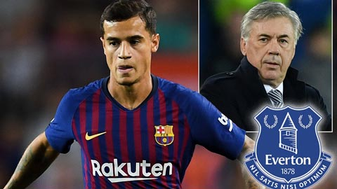 Barca đồng ý bán Coutinho cho Everton với giá 35 triệu bảng