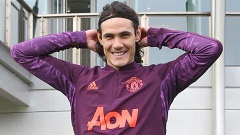 Man United đón nhận tin cực vui về Cavani