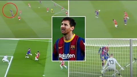 Messi bị coi là tội đồ khiến Barca có thể mất chức vô địch vì pha bỏ lỡ khó tin