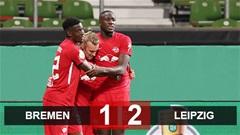 Kết quả Bremen 1-2 Leipzig: Sao Hàn Quốc tỏa sáng, Leipzig vào chung kết cúp quốc gia Đức