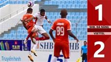 SHB Đà Nẵng vs Viettel: 1-2 (Vòng 12 V.League 2021)