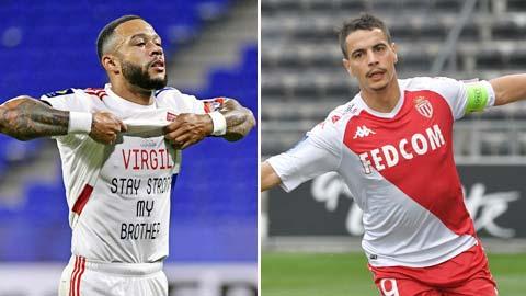 Monaco vs Lyon: Thành bại tại Ben Yedder & Depay!