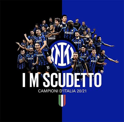 Inter Milan trở thành tân vương Serie A