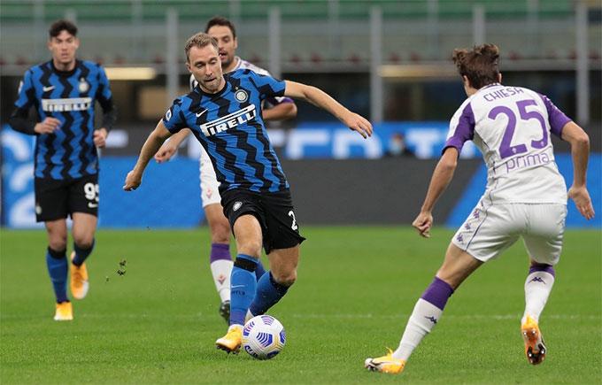 Inter lội ngược dòng ngoạn mục trước Fiorentina ở vòng mở màn