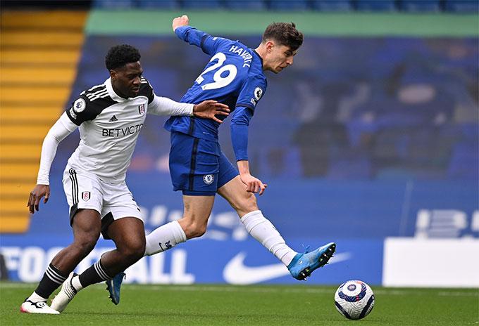 Havertz ghi cả 2 bàn giúp Chelsea giành chiến thắng