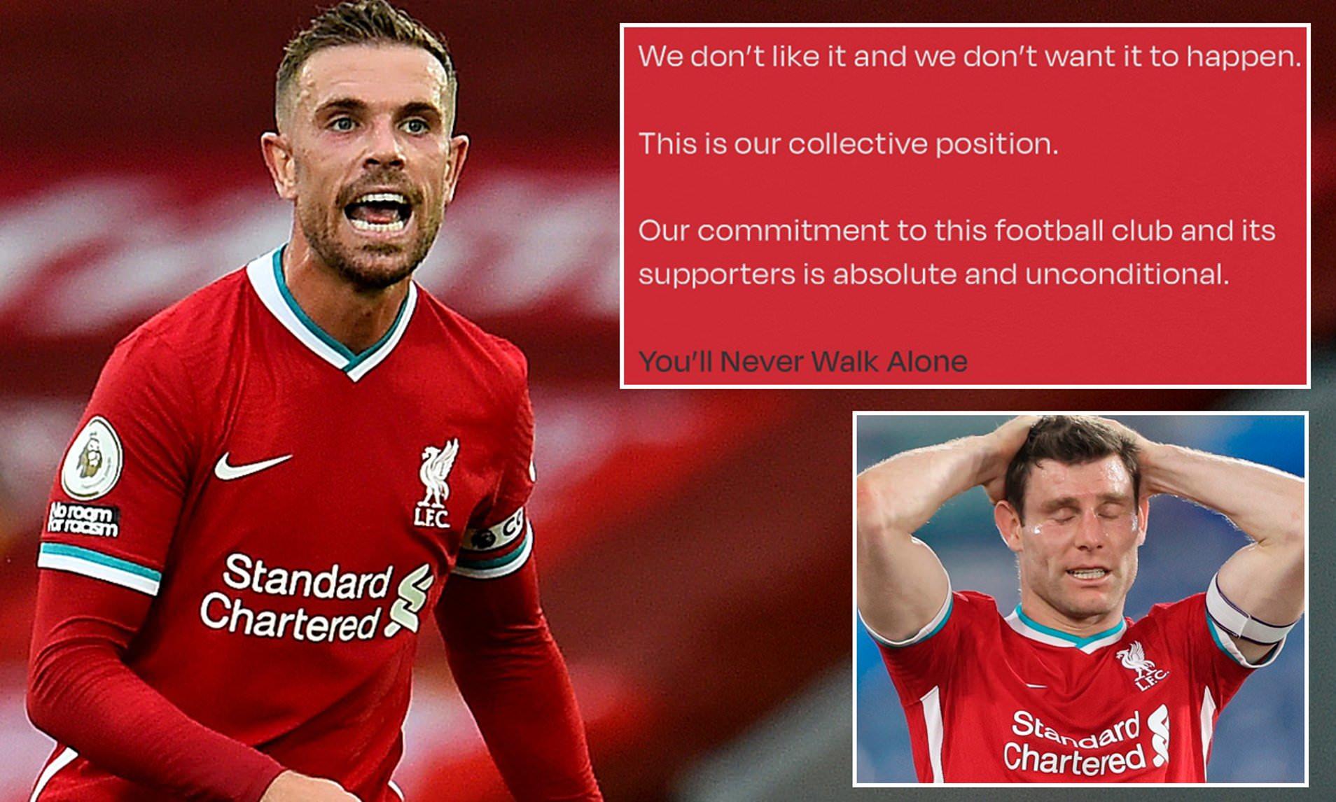 Henderson đã đưa ra thông điệp mạnh mẽ với vai trò thủ lĩnh của The Kop