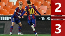 Valencia vs Barcelona: 2-3 (Vòng 34 La Liga 2020/21)