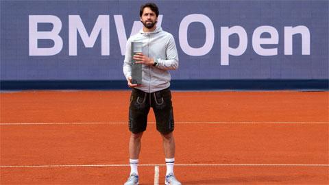 'Kẻ thù' của Federer vô địch giải ATP ở Munich