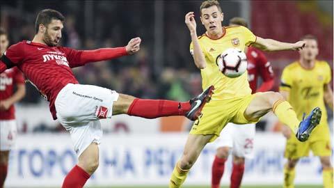 Soi kèo: Tài trận Arsenal Tula vs Spartak Moscow