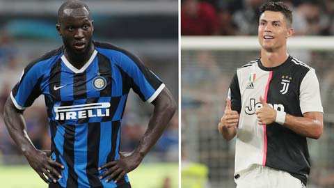 Lukaku xem như đã đầu hàng Ronaldo