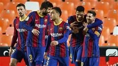 Điểm nhấn Valencia vs Barca: Messi và Griezmann cùng thăng hoa