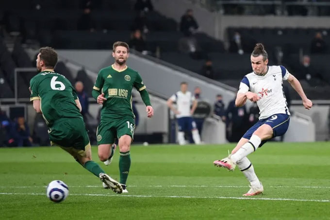 Bale đã có ngày thi đấu chói sáng