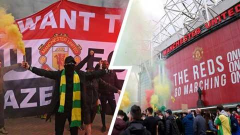 Trận MU vs Liverpool bị HOÃN do biểu tình tại sân Old Trafford