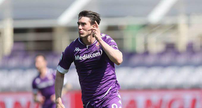 Vlahovic đang chơi bùng nổ ở Serie A mùa này